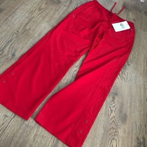 Red scrubs bottoms